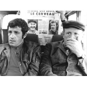 Photographie de Jean Paul Belmondo - Bourvil