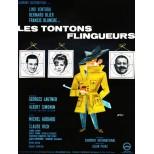 Photographie de l'affiche des Tontons Flingueurs