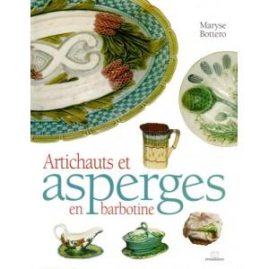 Artichauts et asperges en barbotine - Maryse Bottero