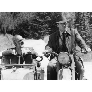 Photographie - Harrison Ford - Sean Connery - film Indiana Jones