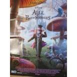 Affiche du film - ALICE au PAYS des MERVEILLES -  Johnny Deep