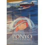 Affiche du film - PONYO sur la falaise - Hayao Miyazaki
