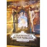 Affiche du film - L'IMAGINARIUM DU DOCTEUR PARNASSUS - Johnny Depp