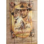 Affiche du film - INDIANA JONES et la dernière croisade - Harrison Ford-Sean connery-steven Spielberg