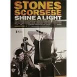 Affiche du film - SHINE A LIGHT - Rolling Stones-Martin Scorsese
