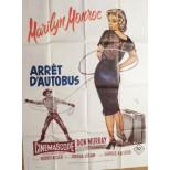 Affiche du film - ARRÊT D'AUTOBUS - Marilyn Monroe