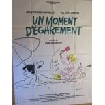 Affiche du film - Un moment d'égarement - Wolinski