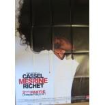 Affiche du film - MESRINE l'ennemi public n°1 - Vincent Cassel