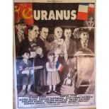 Affiche du film - URANUS - Gérard Depardieu-Jean Pierre Marielle-Philippe Noiret-Michel Galabru