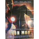 Affiche du film - IRON MAN - Robert Downey Jr-Gwyneth Paltrow