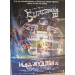 Affiche du film - SUPERMAN III - Christopher reeve
