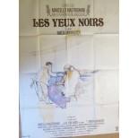 Affiche du film - LES YEUX NOIRS - Marcello Mastroianni