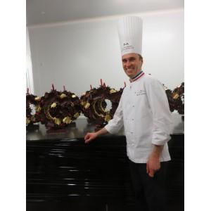 NICOLAS CLOISEAU-MOF chef chocolatier de la MAISON DU CHOCOLAT