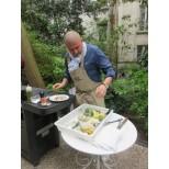 Christian Etchebest cuisine a l'Hôtel Particulier Montmartre