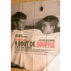 A BOUT DE SOUFFLE - Jean Luc Godard-François Truffaut-Jean Seberg-Jean Paul Belmondo