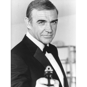 Photographie de Sean Connery